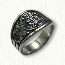 Custom USN Ring